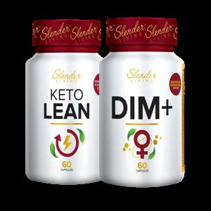 Keto Lean & DIM+ Combo